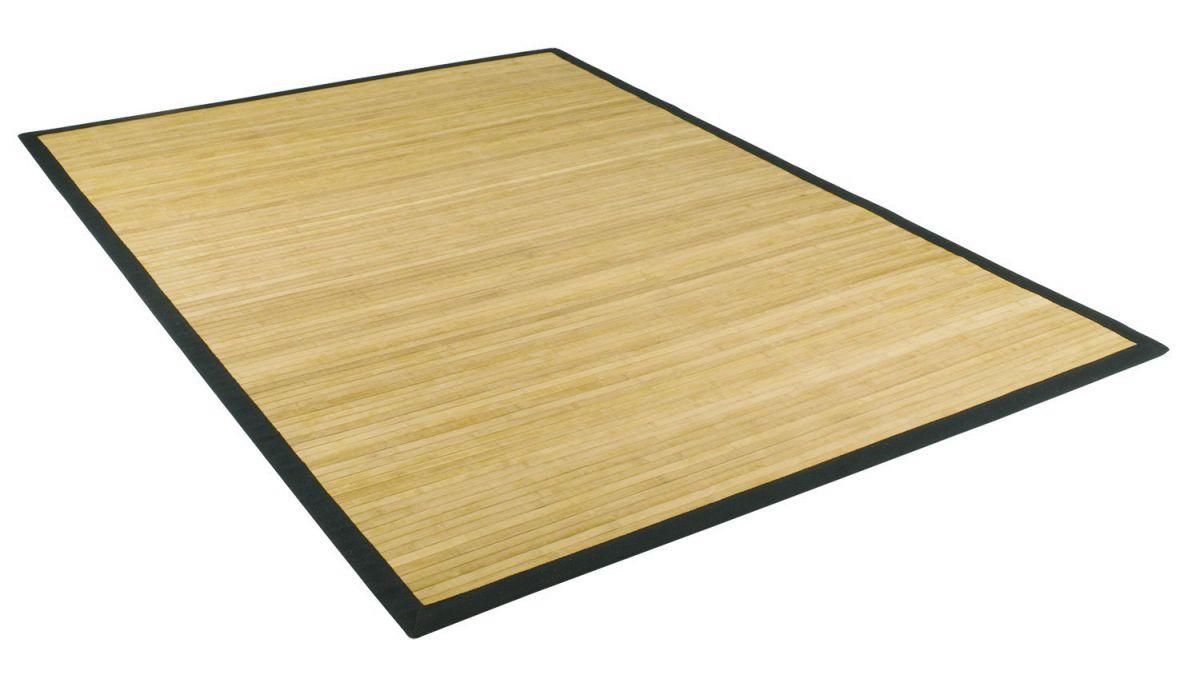Bambusteppich  Bambusteppich in verschiedenen Größen und Farben mit Bordüre und ...